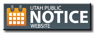 Button to go to Utah Public Notice website